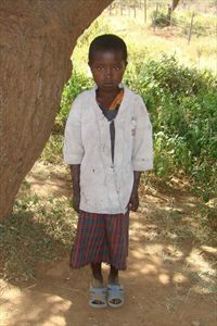 Napanu, our Compassion International child
