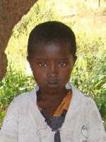 Compassion International child Napanu